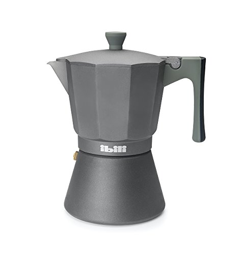 Ibili 621303 - Ibili Il Sapore (3 Tazas), cafetera italiana para inducción