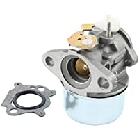 Nukana Nuevo Carburador Apto para Briggs & Stratton 497586 499059 498170 Motores Cortadora De Césped Junta
