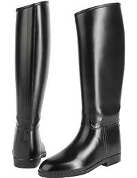'United Sportproducts B445–Germany USG 12150001–437–204–Botas de equitación Happy Boot, talla 37, color negro extra amplio, H 42/W 38. 5