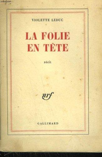 La Folie En Tete [Pdf/ePub] eBook