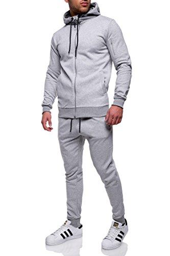 MT Styles Trainingsanzug mit Zipper Sportanzug R 7039