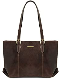 Tuscany Leather Annalisa Borsa shopping in pelle con due manici - TL141710 d5c1d10094f