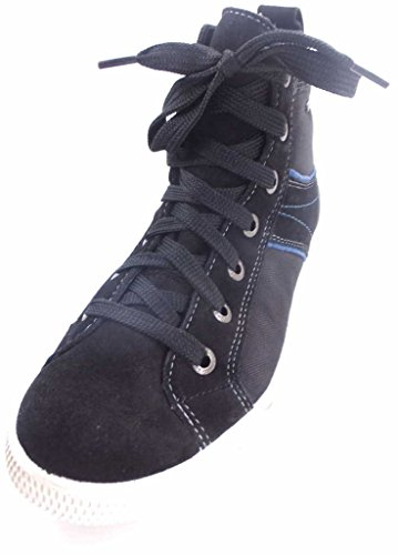 Superfit 300458 SWAGY, Jungen Hohe Sneakers Schwarz
