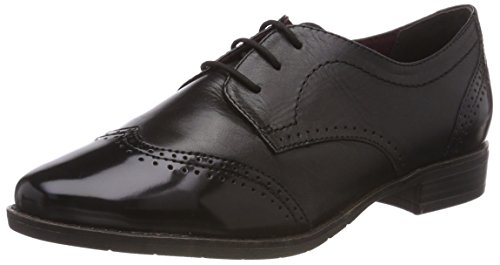 Oxfords, Schwarz (Blk Lea/Brush 30), 41 EU ()