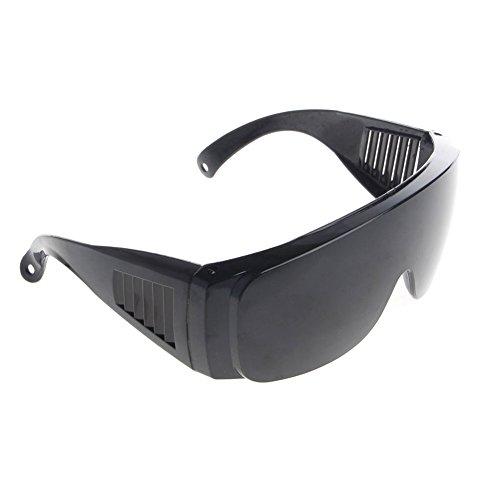 Arbeitsschutzbrille - Hot Eye Schutz Labor Outdoor Arbeit Antischutz Sicherheitsbrille Nebel Brille (rot) (schwarz)
