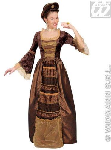 Exclusives Lady Anne De Luxe Kostüm Erwachsene Damen M - 40/42 (Royal Kaiserin Für Erwachsenen Kostüm)