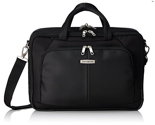 "Samsonite Cartella Intellio Briefcases Bailhandle 16"" Exp 16 liters Nero (Black) 56329-1041"