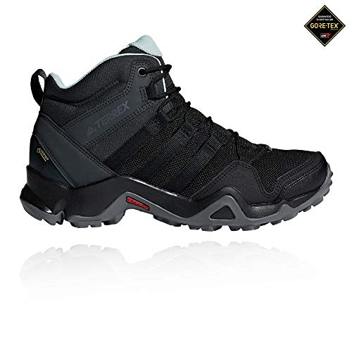 adidas Damen Terrex AX2R MID GTX Trekking-& Wanderstiefel, Schwarz Negbás/Vercen 000, 40 EU