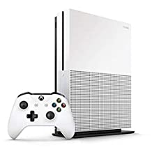 Microsoft Xbox One S 1TB Console (White) - Official UAE Version