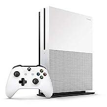 Microsoft Xbox One S 1TB Console (White) - UAE Version