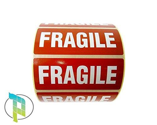 Palucart® Fragile etiqueta pegatinas Fragile 1000Etiquetas