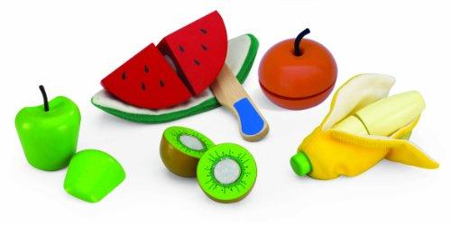 HABA Wonderworld 319994 - WW-4538 Obst Set zum Schälen und Schneiden -