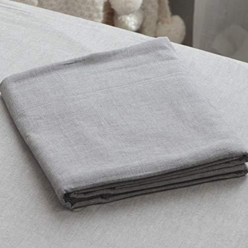 laid Flache Platte, Gewaschener Baumwolle Bettlaken Tagesdecke Mit 1500 Thread Count Königin King Size Kein Verblassen-O 230x250cm(91x98inch) ()