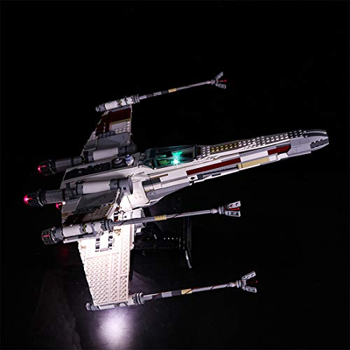 POXL Licht-Set Für Red Five X-Wing Starfighter - LED Licht Set Led - Lego Wing 10240 X