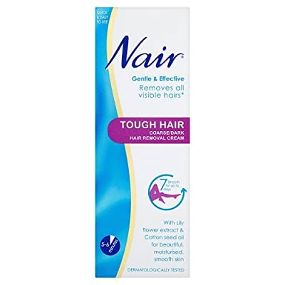Nair Tough Hair Coarse Hair Removal Cream, 200ml