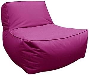Pole JAMZZC1H2482 Bond Chauffeuse Billes Toile Parachute Violet 83 x 103 x 61 cm