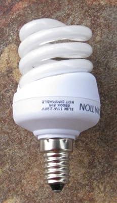 Energiesparlampe Sili Superminispiral T2 230v 11 Watt E14 6500k - Tageslicht von Sili Lichtinnovation