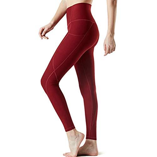 BURFLY Frau Sommer Neue Hohe Elastizität Einfarbig Tasche Hüfte Yoga Hosen Lässige Fitness Hosen Laufhose