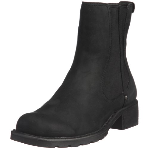 Clarks Damen Orinoco Club Stiefel, Black Leather Schwarz (Black Leather)