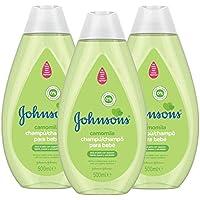 Johnson's Baby Champú Camomila, Ideal para Toda la Familia - 3 x 500 ml