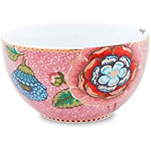 Pip Studio Spring To Life Case, Porcelain, pink/pink, Diameter 12 cm