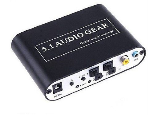 LCS-decodeur Audio Digitale-convertito i formati Audio DTS, AC-3, Dolby Pro