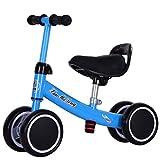 Baby-Balance Fahrrad,Yo Kind Scooter Spielzeug Der Twist 1-4 Jahre Blue-blau A 20.5 Zoll