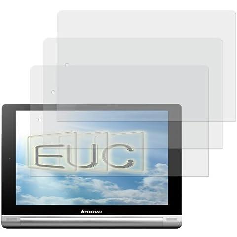 3 x Displayschutzfolie matt/entspiegelnd für Lenovo Yoga Tablet