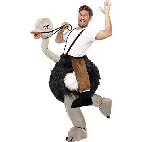 Vogel Strauß Kostüm Straußenkostüm Vogelkostüm Straussenkostüm Tierkostüm Coole Karnevalskostüme