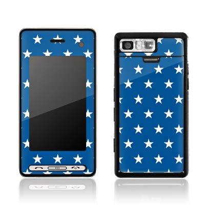 DeinDesign LG Prada II Case Skin Sticker aus Vinyl-Folie Aufkleber Sterne Marine Blau