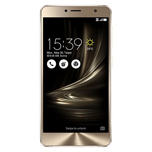Asus ZenFone 3 Deluxe (ZS550KL) Smartphone (5,5 Zoll (14 cm) Full-HD Touch-Display, 64GB Speicher, Dual-SIM, Android 6.0) silber (Asus 6 Smartphone)