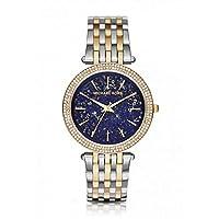 Michael Kors Womens Quartz Watch, Analog Display and Stainless Steel Strap MK3401