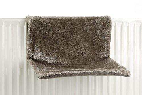 Beeztees amaca sleepy, 46x 31x 24cm, colore:grigio
