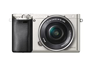 Sony Alpha 6000 Systemkamera (24 Megapixel, 7,5 cm (3 Zoll) LCD-Display, Exmor APS-C Sensor, Full-HD, High Speed Hybrid AF) inkl. SEL-P1650 Objektiv silber (B00IEYENN4) | Amazon price tracker / tracking, Amazon price history charts, Amazon price watches, Amazon price drop alerts