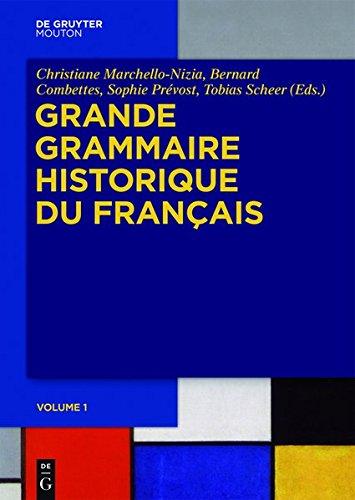 Grande Grammaire Historique du Français (GGHF)