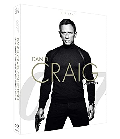 Spectre Blu-ray - 007 - Daniel Craig Collection (4 Blu-Ray)