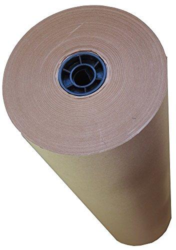 gsm Pure Kraft Packpapier-Geschenkpapier braun-Größe: 750 mm x 100 Meter pro Rolle, stark Supplies Verpackung, 50 Stück (Kraft Paper Roll)