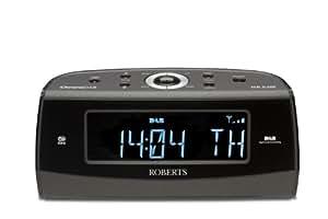 roberts chronodab dab fm digital alarm clock radio with. Black Bedroom Furniture Sets. Home Design Ideas