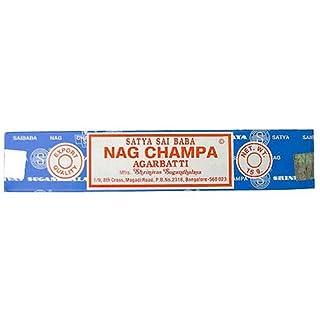 Encens Nag Champa - 15 Grs - Satya - Lot de 12 Boites