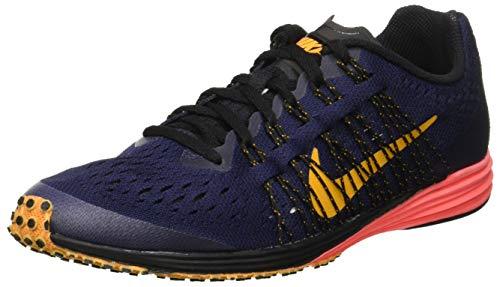 Nike LUNARSPIDER R 6, Zapatillas de Running Unisex niño, (Blackened BlueOrange PeelBlack 400), 38 EU