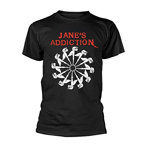 Jane's Addiction Lady Wheel T-Shirt M