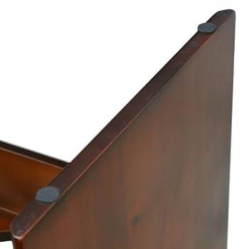 PetFusion Distributeur d'aliments surélevé en pin de Nouvelle-Zélande de classe A pour animaux domestiques Étanche 26cm de hauteur 2gamelles de classe SS américaines