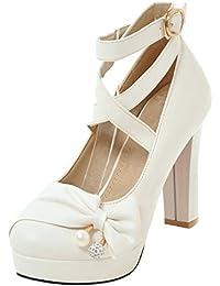 7e4355e582286 Suchergebnis auf Amazon.de für: weiße pumps - Schuhe: Schuhe ...