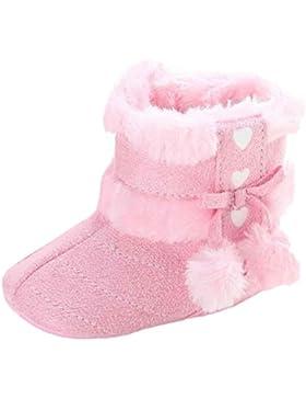 Babyschuhe,LianMeng Mädchen Weiche Sohle Schneeschuhe Krippe Schuhe Kleinkind Stiefel