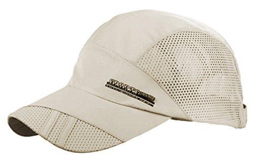 Feoya Casquette Ultra Légère Réglable Chapeau de Soleil Golf Chapeau D'été Chapeau de Sport Unisexe