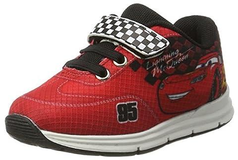 Cars Jungen CA003183 Sneaker, Rot (White/White/Black/Black 634), 25 EU