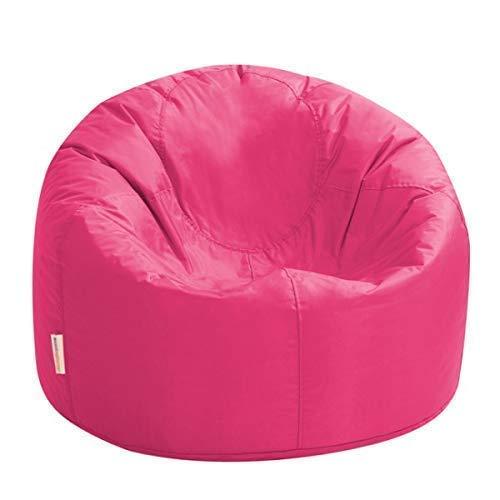 Bean Bag Bazaar XL Sitzsack - Innen und Außen, Wasserabweisende – Groß Sitzsäcke (Rosa)
