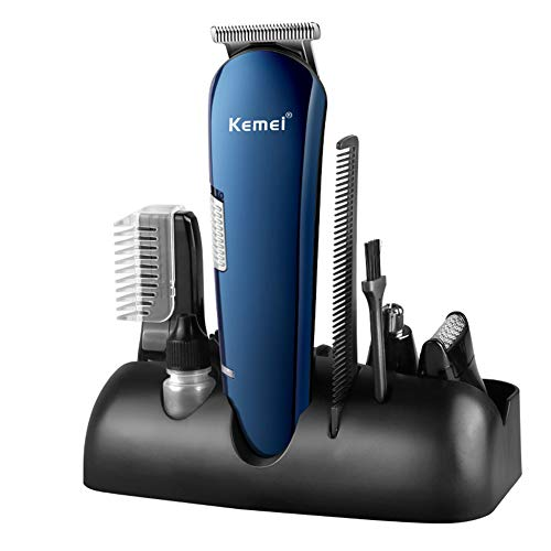 5 en 1 hommes tondeuses à cheveux sans fil Kit de toilettage rechargeable profession étanche rasoir nez cheveux barbe tondeuse pour enfants utilisation de la famille
