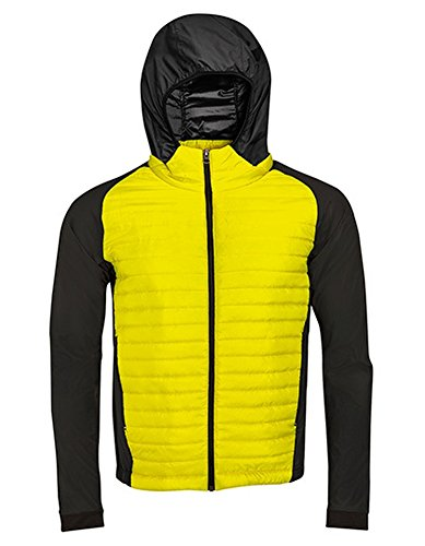 Men`s Running Lightweight Jacket New York Neon Yellow