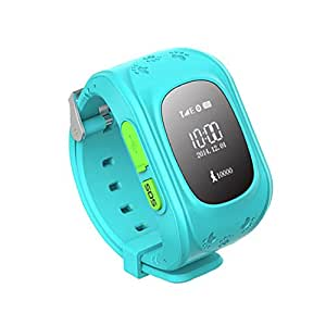 First DHL Free G36 Smart Watch GPS Positioning Children Wearable Devices SIM SOS Smartwatch For Apple IOS iphone Android Sony BXYA033 (Blue)